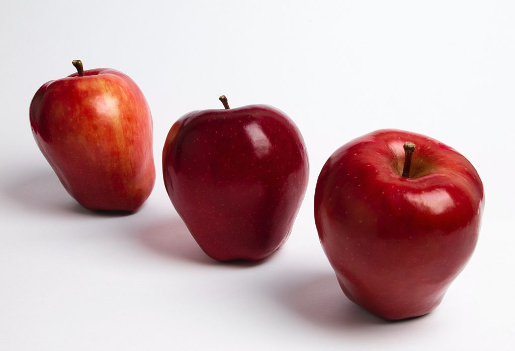types of apples, red delicious