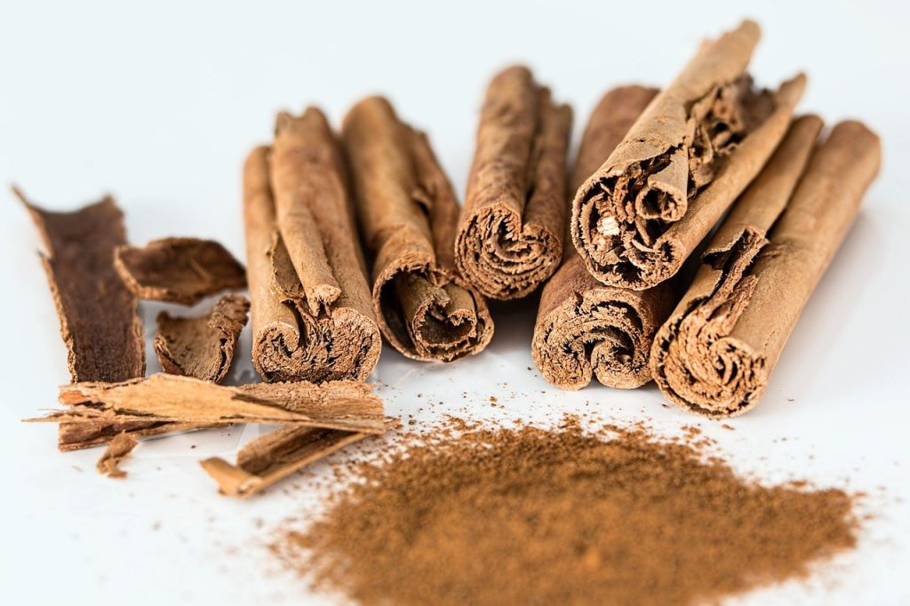 cinnamon, number 8 on our list of spices