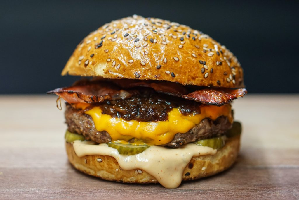 meal ideas for fussy eaters: burger