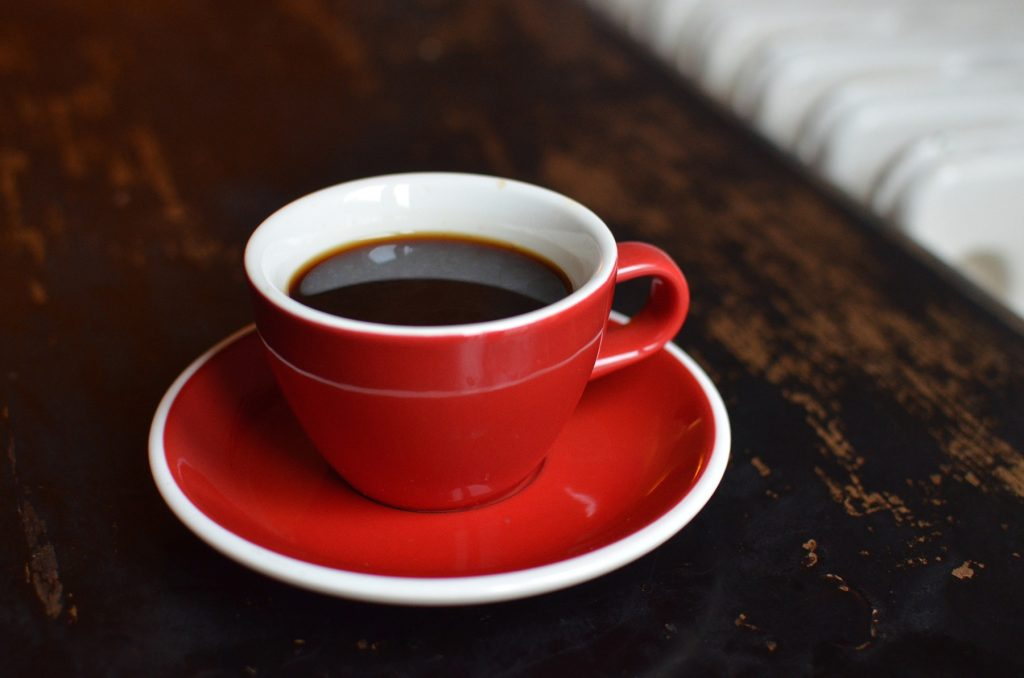 types of coffee drinks include the americano