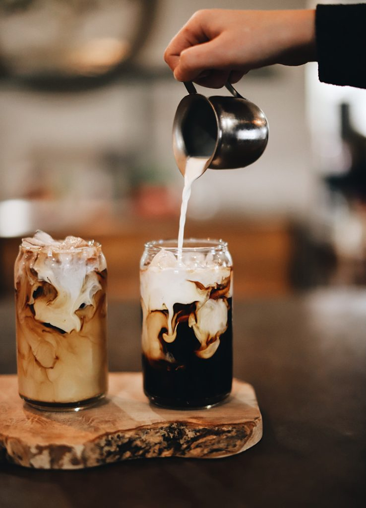 types of coffee drinks include the cold brew