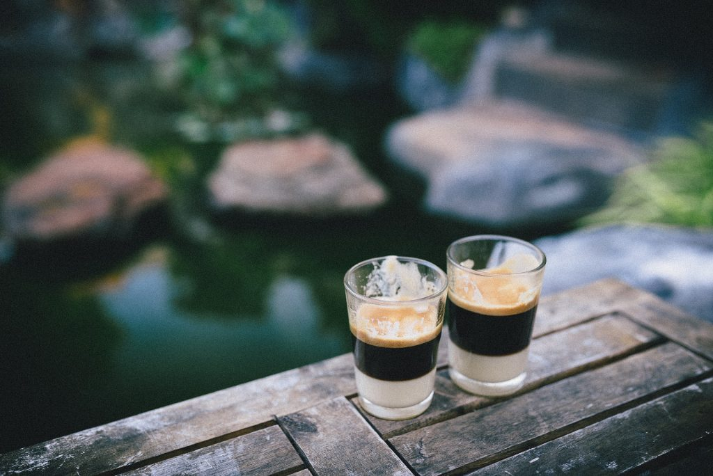 types of coffee drinks include the espreso