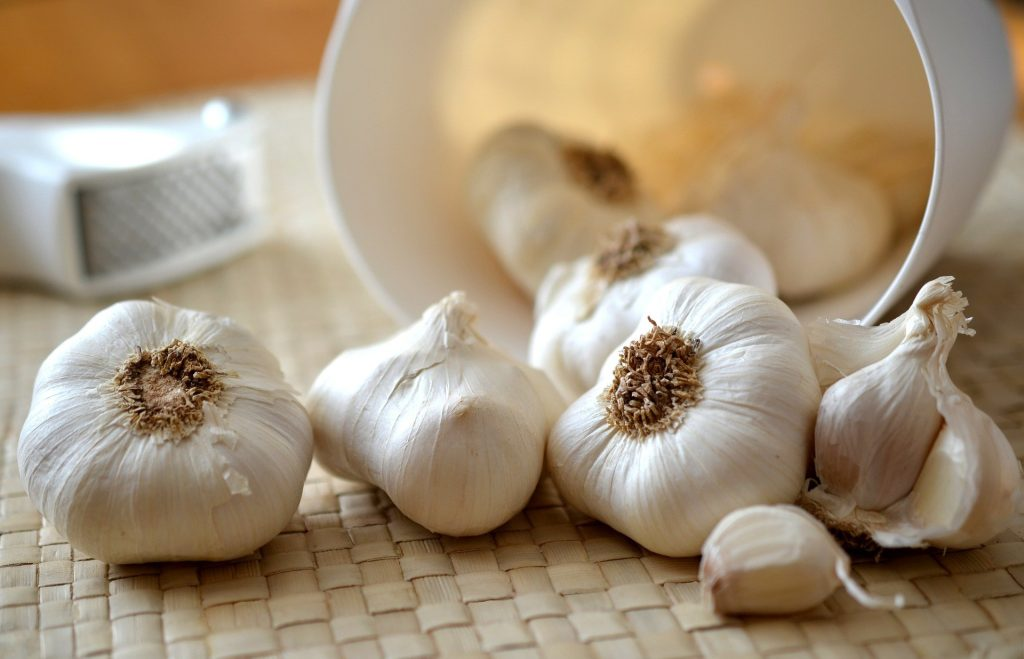 garlic can be used in the low fodmap diet