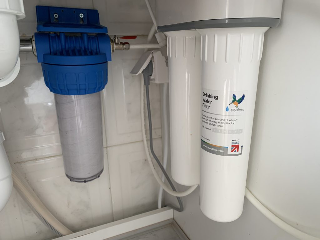 Doulton Undersink Water Filter with Sediment Filter