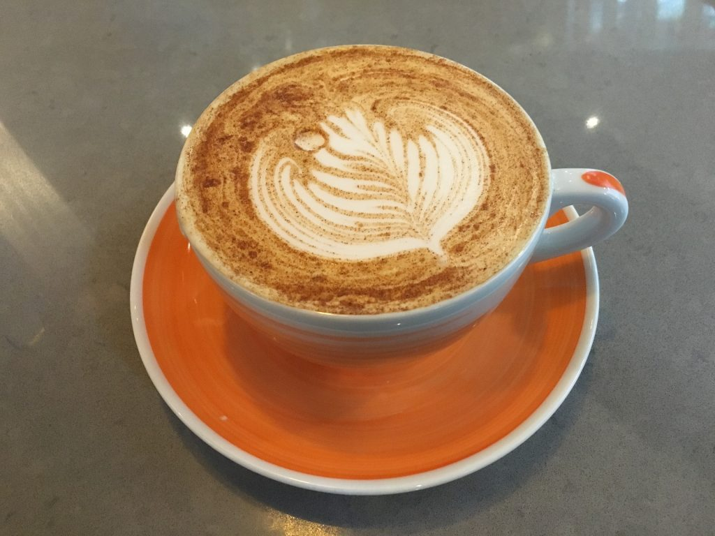 one of our tasty coffee recipes: hot cross bun spiced latte