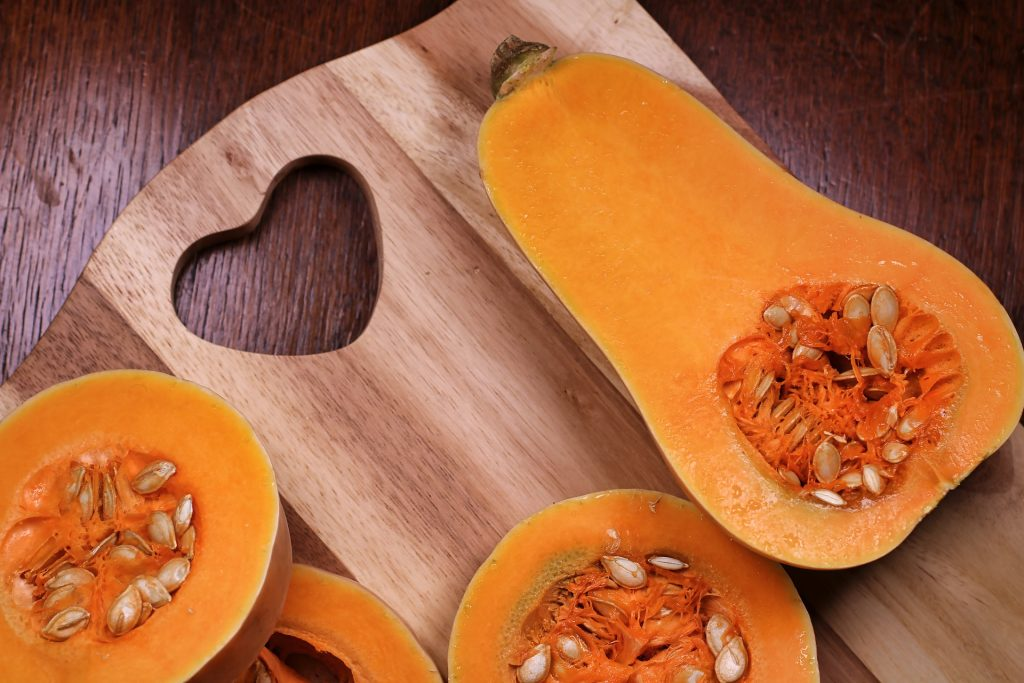 recipes with coffee grounds: butternut coffee squash