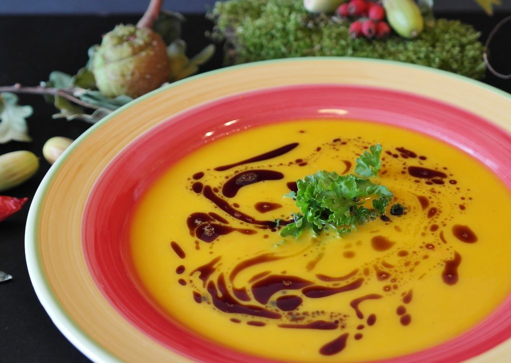 recipes with coffee grounds: coffee vegie soup