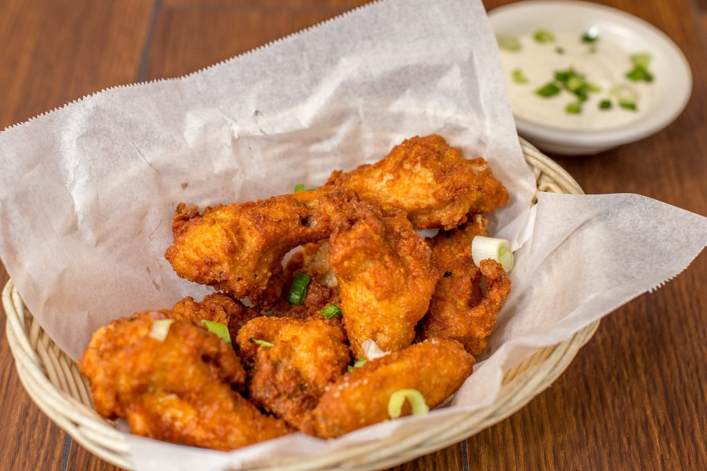 recipes with coffee grounds: coffee hot wings